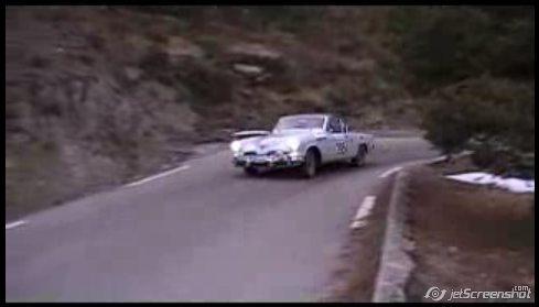1954 Studebaker i årets Monte Carlo rally