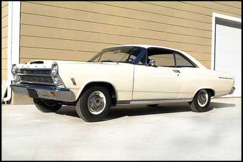Original og kun gadekørt, 427 Lightweight Fairlane